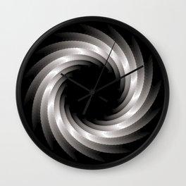 Paper Cut Torus - 01 Wall Clock