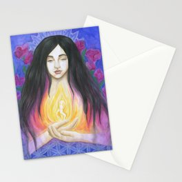 The Goddess Within Stationery Cards