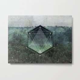 The Sacred Wood Metal Print