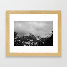 Farther Slopes: IV Framed Art Print