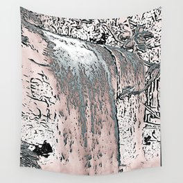 "series waterfall ""Cachoeira Grande"" IV Wall Tapestry"