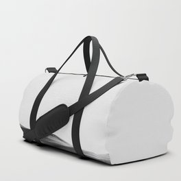 In The Distance - Black and White Nature Photography Duffle Bag
