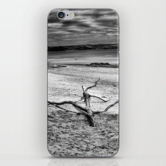 Driftwood 3 mono iPhone Skin