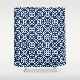 Abstract geometric Pattern 88 Shower Curtain