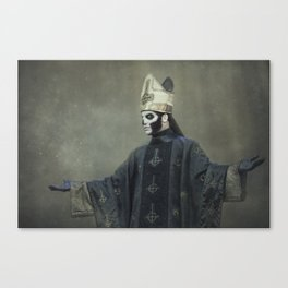 Ghost - Papa Emeritus III Canvas Print