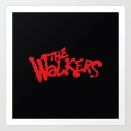 .: The Walkers :. Art Print