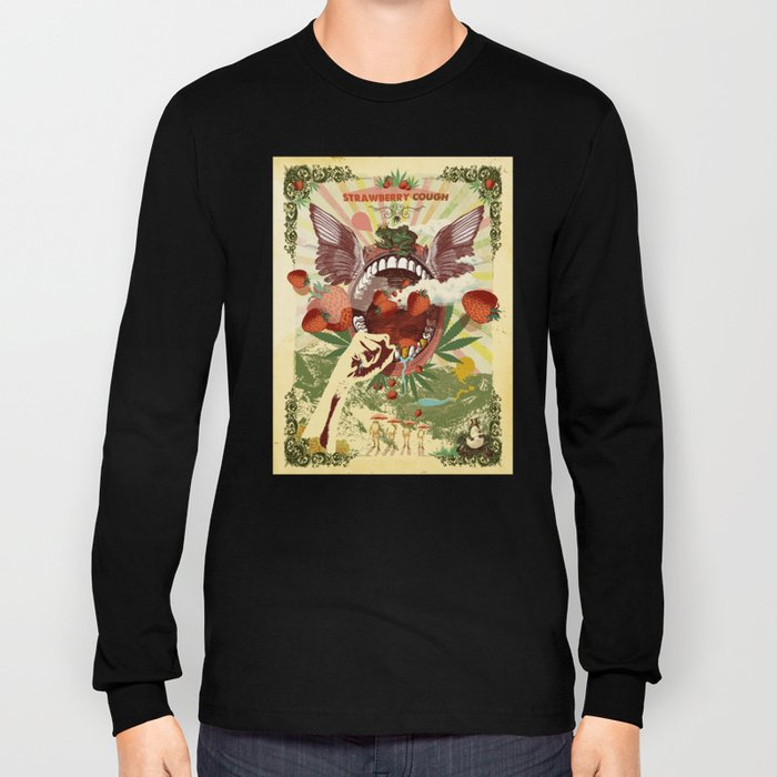 STRAWBERRY COUGH Long Sleeve T-shirt