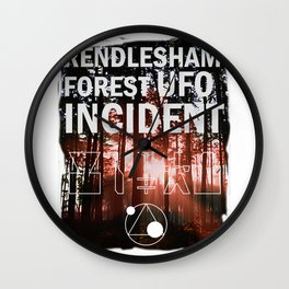 rendlesham forest ufo incident Wall Clock