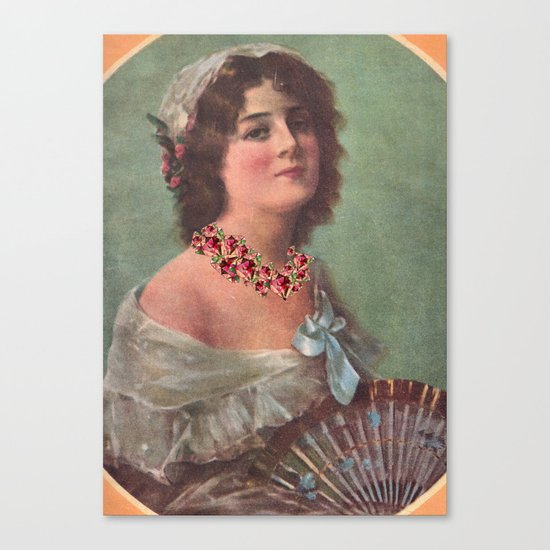 Josephine's Diamonds Canvas Print