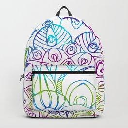 Boho Peacock Mandala Backpack