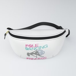 Pole Dancers Fitness Dancing Exercise Gift Pole Dancing Princess Fanny Pack