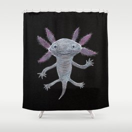 Axolotl Shower Curtain