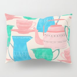 Jugs and Cups Pattern Pillow Sham