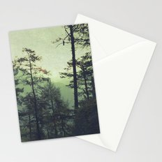 the wind was the only sound Stationery Cards