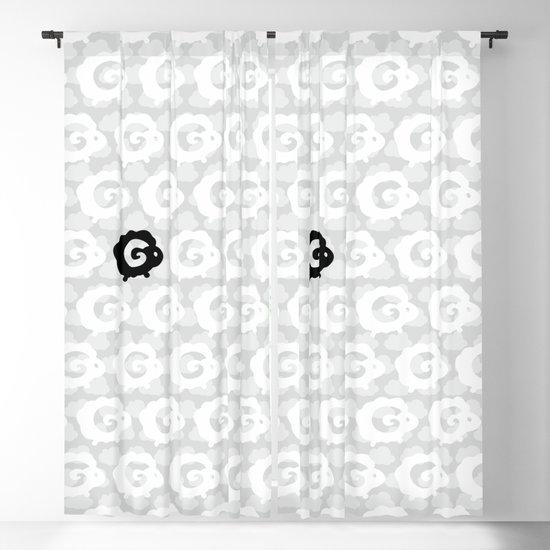 Black Sheep Pattern by xooxoo