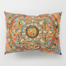Mandala Buddhist 12 Pillow Sham