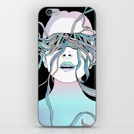 I See My Dreams and Memories Collide iPhone Skin