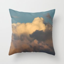 mind · sky Throw Pillow