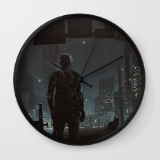 After fall Wall Clock