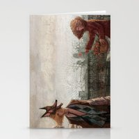 werewolf Stationery Cards featuring Werewolf by Yuko Fukushima