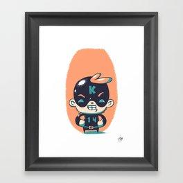Kaptain 14 Framed Art Print