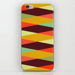 Geometric Pattern #28 (crisscross) iPhone Skin