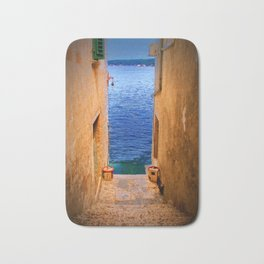 Stairs to the Sea Bath Mat