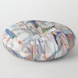 Equitable Fragments Floor Pillow