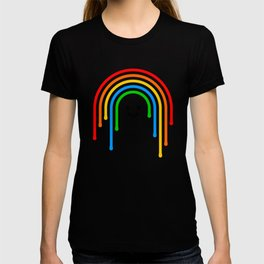 Drippy rainbow T-shirt