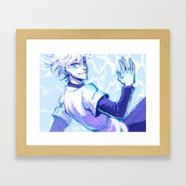 Killua Framed Art Print