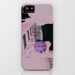 Denver Poster iPhone Case
