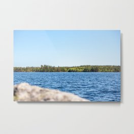 Lake in Finland Metal Print