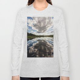 clouds reflecting Long Sleeve T-shirt