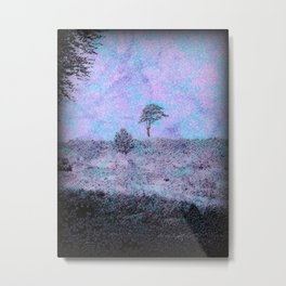 The Lone Pine Tree. Metal Print