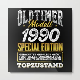 Classic car modell 1990 Metal Print