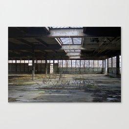 Brick Works Canvas Print
