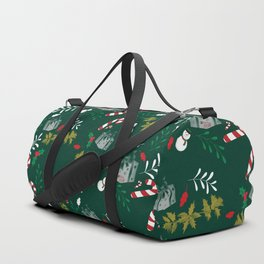 Pattern Green Christmas18 Duffle Bag