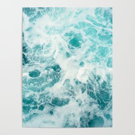 Ocean Sea Waves Poster