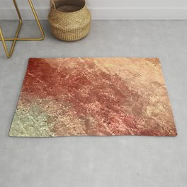 Crystallized Copper Trails Rug
