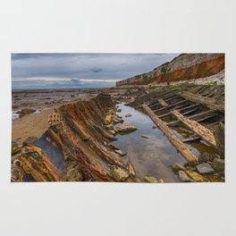 Hunstanton shipwreck Rug