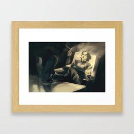 Lin Bei Fong Framed Art Print