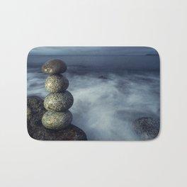 Balanced in the Sea Bath Mat