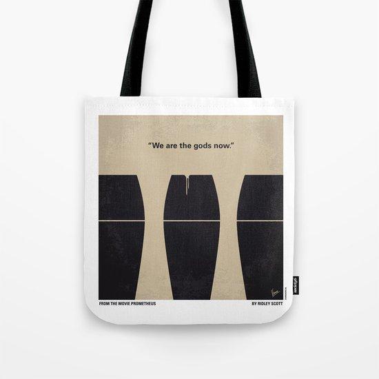 No157 My Prometheus minimal movie poster Tote Bag