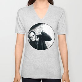 A Stupid Mask Is Not Going To Make You Invincible, Dude Unisex V-Neck