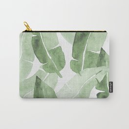 Tropical Leaves 2 Carry-All Pouch