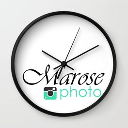 Marose Photo Wall Clock