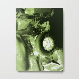 DIY movie projector Metal Print
