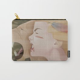 Sanya the Lioness Carry-All Pouch