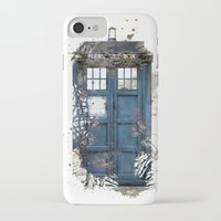 tardis iPhone & iPod Cases featuring Tardis by Abbie :)