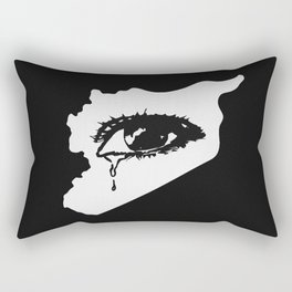 Mourn With Me Rectangular Pillow